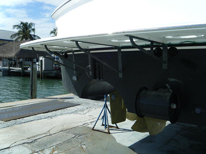swim platform repair