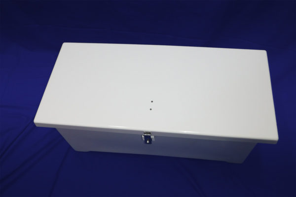 40 inch Deck Box - Top View