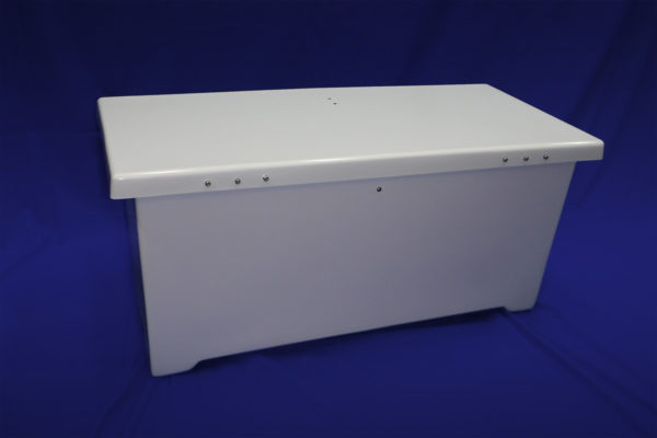 40 inch Deck Box - Back View