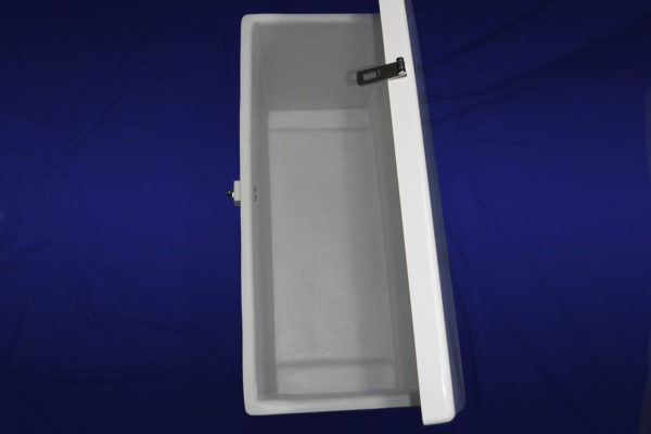 40 inch Deck Box - Inside