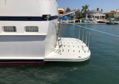 Maintenance Free Fiberglass Swim Platforms