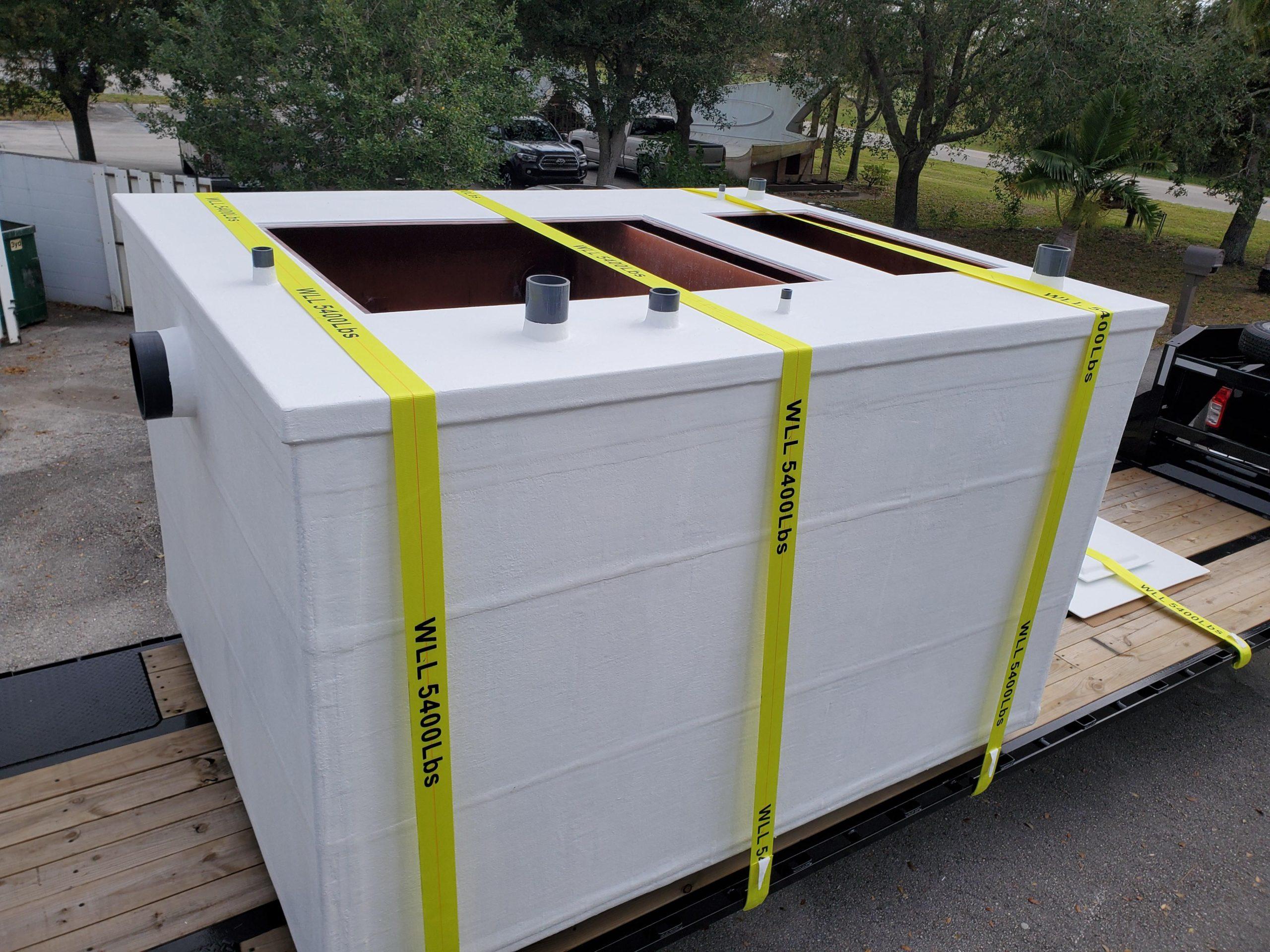 Custom Oil & Water Separator Tank